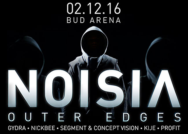 "2 Декабря ► Noisia ""Outer Edges"" ► Bud Arena"